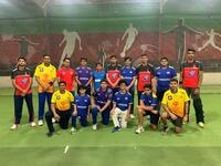 The G Force Cricket Academy students turned up for their training session wearing the jerseys of their favorite IPL teams. (Supplied photo)