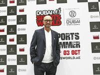 Italian football icon Walter Zenga at the Dubai Sports World. (Photo: Juidin Bernarrd)