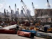 Container Terminal Resumes Operations at Beirut's Exploded Port