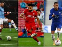 Riyad Mahrez, Mohamed Salah and Hakim Ziyech are just some of the Arab stars set to light up the Premier League this season. (Photo: AFP)