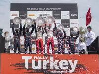 Final day of Rally Turkey completed in Marmaris stage with participation of 130 drivers from 19 countries (Photo: AA)