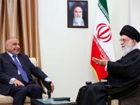 Iran's supreme leader Ayatollah Ali Khamenei told Iraqi premier Adel Abdel Mahdi that the US is plotting to remove his government (AFP Photo/HO)