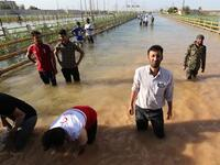 Floods in Iran. (AFP/ File Photo)