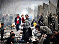 Syrian refugees' camp. (AFP/ File Photo)