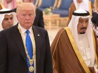 King Salman bin Abdulaziz held a telephone conversation with US President Donald Trump to discuss global oil prices. (AFP/ File Photo)