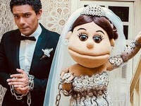 Sayidaty magazine did a post marriage interview with Abla Fahita and Asser Yassin Source asser yassin Instagram