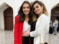 Source carmensoliman InstagramCarmen and her sister Farah are like twins Source carmensoliman Instagram