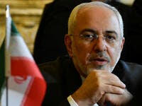 Iran Foreign Minister Mohammad Javad Zarif Khonsari. (AFP/ File Photo)