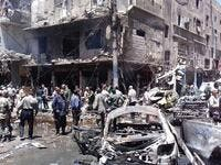 Twin suicide car blast Syria Damascus. (AFP/ File Photo)