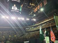 Prime Minister Of Pakistan Imran Khan Speech at Capital One Arena Washington D.C. USA (Twitter)
