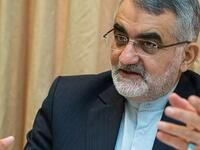 Alaeddin Boroujerdi, a member of the Majlis National Security and Foreign Policy Committee (Twitter)