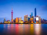 Shanghai, China city  (Shutterstock)