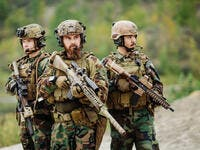 U.S. Army rangers during the military operation (Shutterstock)