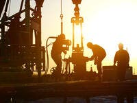 Gas drilling operations (Shutterstock)