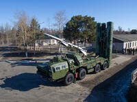 Russian S-400 missile defense system. (Shutterstock/ File Photo)