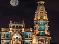 One of Cairo's neighborhoods is the Palace of the Baron, the only palace in the world that is not absent from the sun (Twitter)