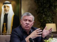 King Abdullah told the New York Times that he stays awake at night thinking of the unemployment problem among the country's youth (AFP)