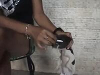 Barbaric woman filmed torturing an innocent dog has enraged several animal rights groups after a blood curdling four minute video of the incident emerged (dailymail.co.uk)