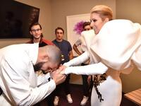 Celine Dion and Drake. (Twitter)