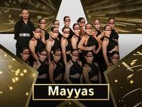 Lebanese dance group Mayas participated in Britain's Got Talent 2019 The Champions Source arabsgottalentinsta Instagram