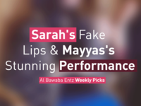 Sarah's Fake Lips & Mayyas's Stunning Performance