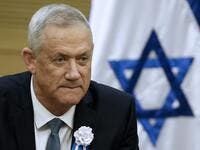 The member of Knesset (MK) Benny Gantz of the Israel Resilience party that is part of the Kahol Lavan (Blue and White) electoral alliance attends a meeting of the alliance members at the Knesset in Jerusalem. (AFP/ File Photo)