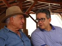 Minister of Antiquities, Dr. Khaled El-Enany & Egyptologist Zahi Hawass  (Twitter)