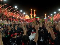 The eve of Arbaeen in Karbala (Twitter)