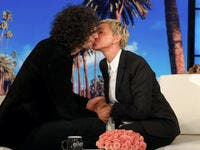 Howard Stern appeared on Mondays episode of The Ellen DeGeneres show where he remarried Beth Source theellenshow Instagram