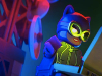 Zoe Kravitz voiced Catwoman in the 2017 film The Lego Batman Movie