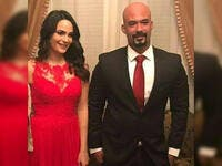 In January 2018, Haitham celebrated his engagement to Engy Salama from outside showbiz community.