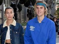 Justin Bieber with Hailey Baldwin  (Twitter)
