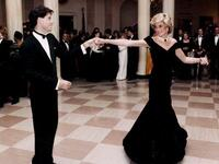 HRH Princess of Wales famously danced with actor John Travolta during a 'White House' party in 1985 hosted by President Ronald Reagan & First Lady; his wife Nancy (Twitter)