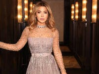 Lebanese golden star Nawal Elzoghbi had a funny incident