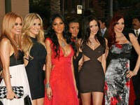 Pussycat Dolls at the 34th Annual American Music Awards at Shrine Auditorium. (Shutterstock/ File Photo)