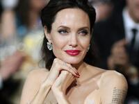 Angelina Jolie suggets she might take a swing at politics. Picture: AFP.