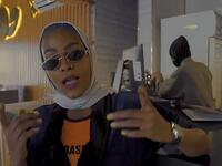 The 'insulting' music video - which was uploaded to YouTube by rapper Asayel Slay (pictured) - calls the women from the holy city 'powerful and beautiful' and goes on to describe them as 'sugar candy'. (Video Screenshot)