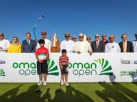 The Oman Open is formally launched by Omani dignitaries
