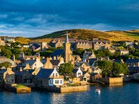 Stromness a village in the Orkney islands (Shutterstock)