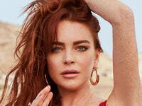 "Lohan last released a single, the dancy ""Bossy,"" in 2008."