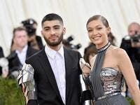 Gigi Hadid and Zayn Malik first parted ways in March 2018. (File/AFP)