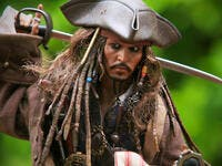 ohnny Depp as the Captain Jack Sparrow,At Home in Bangkok, Thailand. (Shutterstock/ File Photo)