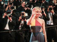 Sienna Miller attends the Premiere of 'The Sea Of Trees' during the 68th annual Cannes Film Festival. (Shutterstock/ File Photo)