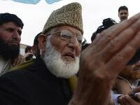 Kashmiri leader Syed Ali Geelani. (AFP/File Photo)