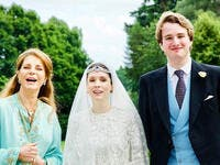 Roald Dahl's Grandson Ned Donovan Weds Princess Raiyah of Jordan in England With Almost No-One Present