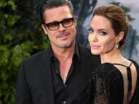 Brad Pitt with Angelina Jolie (Photo: AFP)