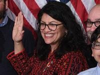 US House Representative Rashida Tlaib participates in a ceremonial swearing-in at the start of the 116th Congress at the US Capitol in Washington, DC. (Photo: SAUL LOEB, AFP/Getty Images)