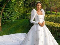 Like a Barbie Doll! Valerie Abou Chakra STUNS In Her Wedding Reception 2nd Dress