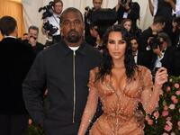 Kim Kardashian and Kanye West. (AFP File photo)
