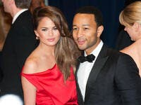 John Legend and Chrissy Teigen arrive at the White House Correspondents Dinner. (Shutterstock/ File Photo)